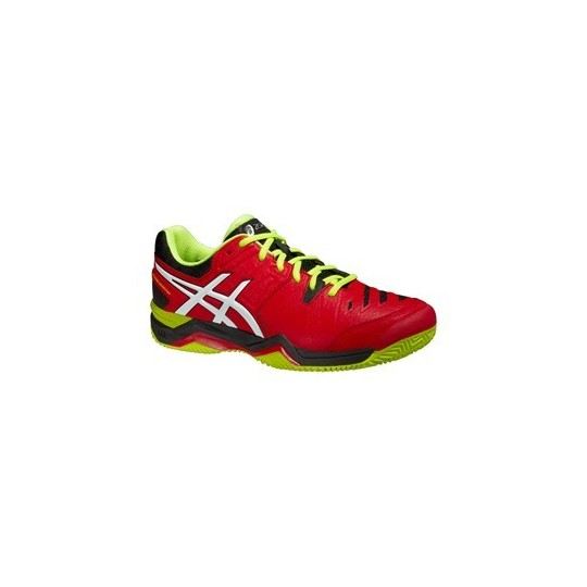 ASICS GEL PADEL COMPETITION MEN ROUGE/NOIR/JAUNE