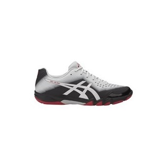 ASICS GEL BLADE 6 MEN GRIS / NOIR / ROUGE AH17 INDOOR