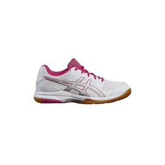 CHAUSSURES ASICS GEL ROCKET 8 LADY BLANC / ROSE AH17