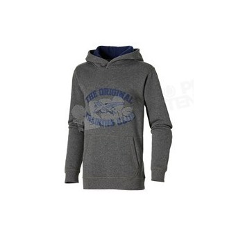 ASICS GRAPHIC HOODIE BOYS ANTHRACITE/MARINE