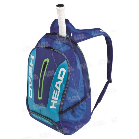 HEAD TOUR TEAM BACKPACK 2017 BLEU/LIME