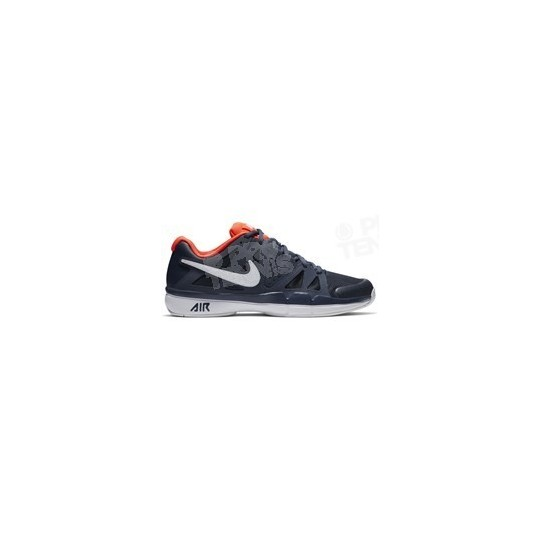 CHAUSSURES NIKE AIR VAPOR ADVANTAGE HOMME MARINE / ORANGE