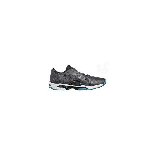ASICS GEL SOLUTION SPEED 3 GRIS FONCE / BLEU AH17
