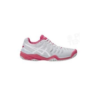 ASICS GEL RESOLUTION 7 LADY GRIS / ROSE AH17