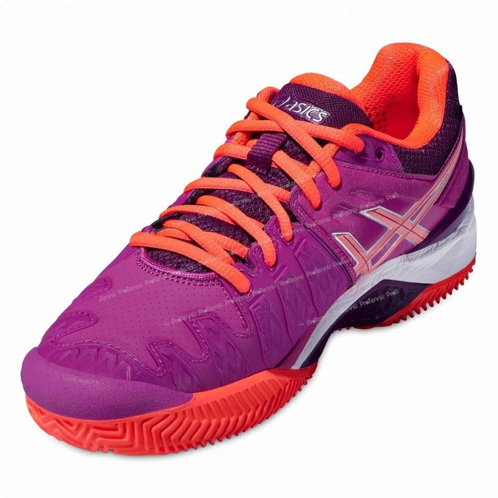 ... ASICS GEL RESOLUTION 6 CLAY LADY VIOLET/CORAIL ...