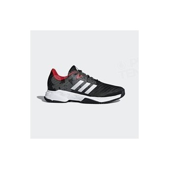 reputable site 59a94 2ee15 CHAUSSURES ADIDAS HOMME BARRICADE COURT 3 NOIR   BLANC ...