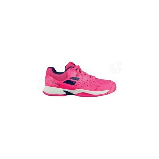 CHAUSSURES BABOLAT PULSION JUNIOR ROSE / BLEU / BLANC PE18