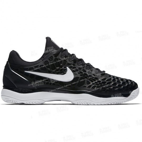 CHAUSSURES NIKE AIR ZOOM CAGE 3 MEN NOIR / BLANC PRINTEMPS