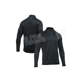 SWEAT 1/2 ZIP UNDER ARMOUR HOMME REACTOR FLEECE NOIR AH17