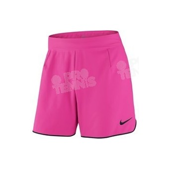 NIKE MEN FLX ACE 7 SHORT ROSE/NOIR