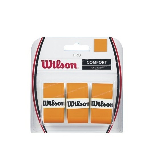 WILSON PRO OVERGRIP PACK 3 ORANGE