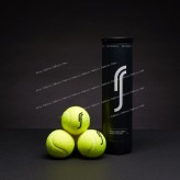 TUBE DE 4 BALLES ROBIN SÖDERLING BLACK EDITION
