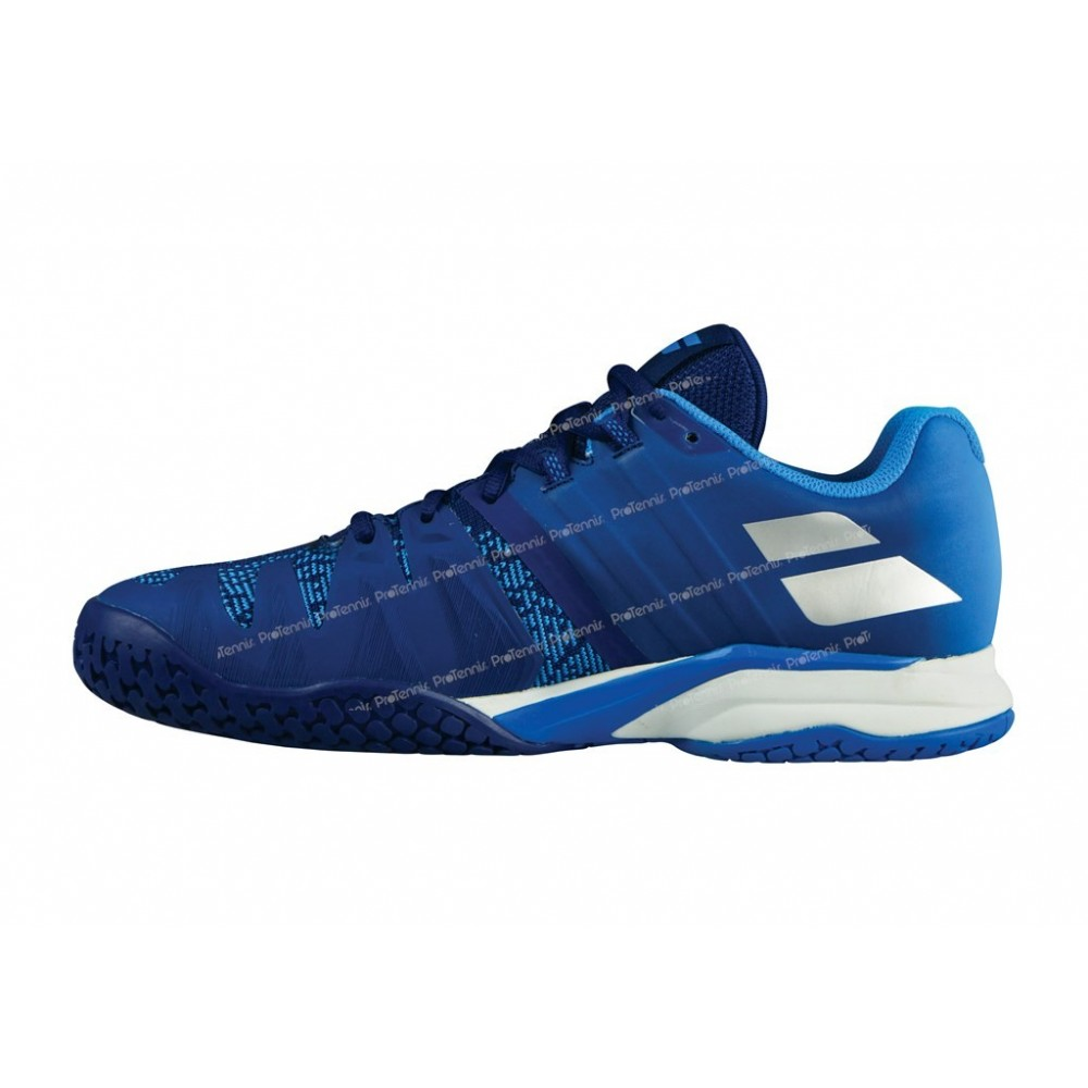 Chaussures Babolat Propulse bleues