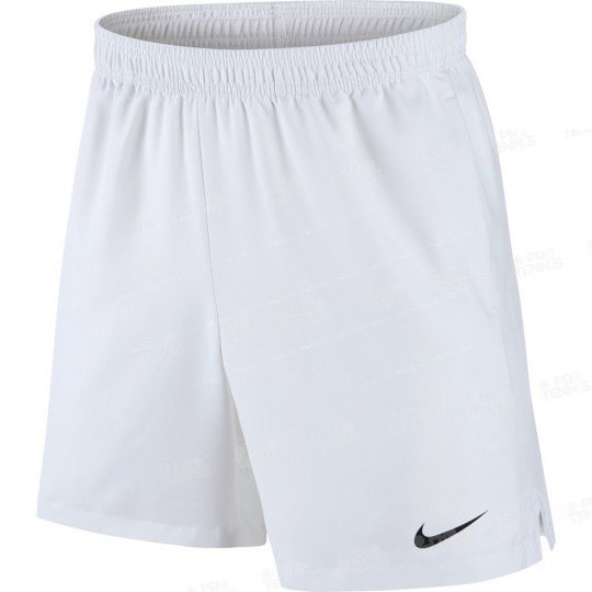 SHORT NIKE MEN COURT DRY 7 BLANC / BLANC PRINTEMPS 2018