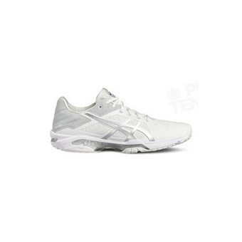 ASICS GEL SOLUTION SPEED 3 LADY BLANC / SILVER PE18