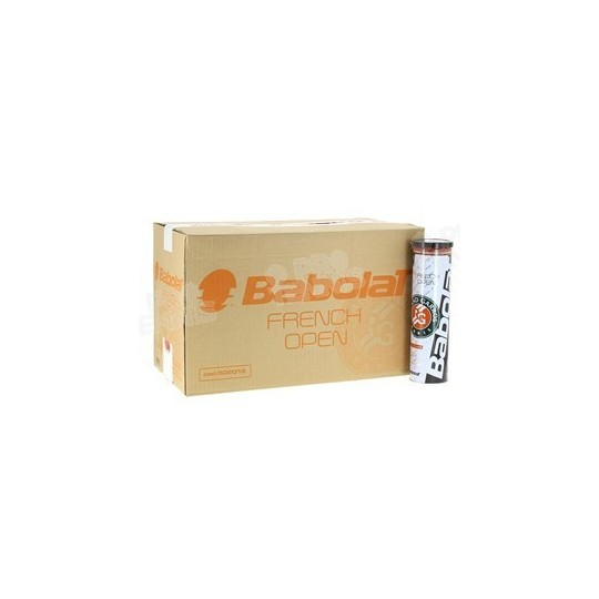 CARTON BABOLAT FRENCH OPEN X4 18 TUBES