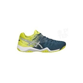 CHAUSSURES ASICS GEL RESOLUTION 7 MEN JAUNE / BLEU PE18