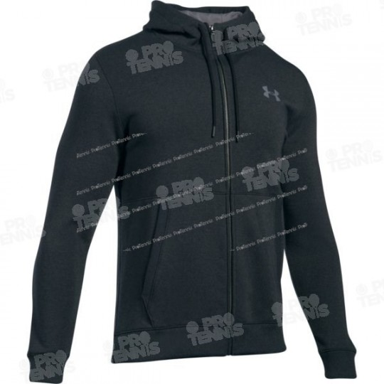 VESTE ZIPPEE UNDER ARMOUR HOMME THREADBORNE NOIR AH17