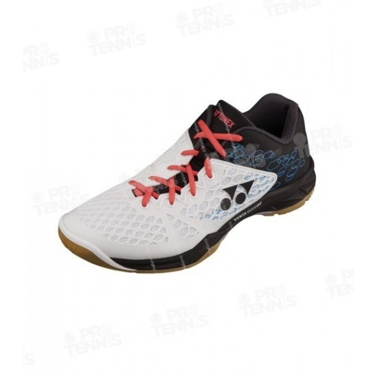 CHAUSSURES YONEX MEN POWER CUSHION BLANC / NOIR / ROUGE 2017