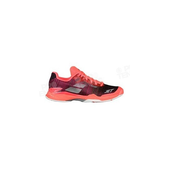 CHAUSSURES BABOLAT JET MACH II FEMME ROSE / MARINE PE18