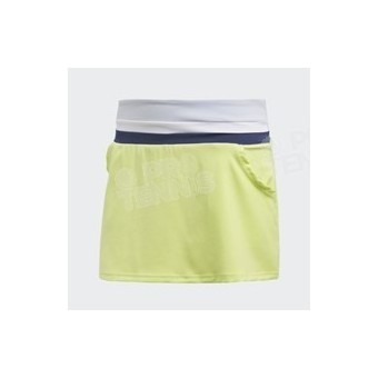 JUPE ADIDAS FEMME CLUB SEMI FROZEN LIME / NAVY PE18