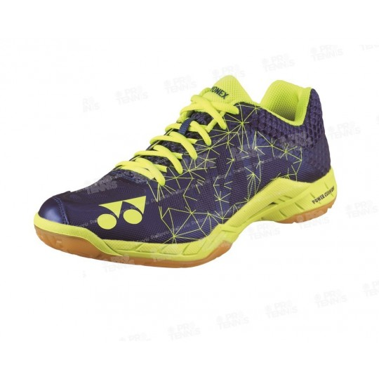 CHAUSSURES YONEX POWER CUSHION AERUS 2 MARINE / LIME PE18