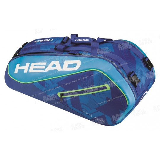 HEAD TOUR TEAM SUPERCOMBI 9R BLEU/LIME