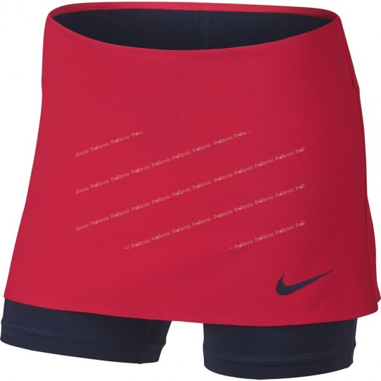 NIKE GIRL POWER SPIN SKIRT ROUGE / NAVY AUTOMNE 2017