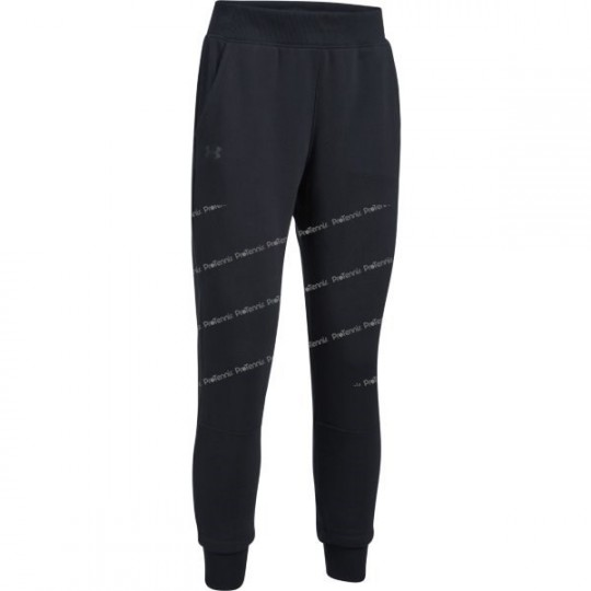 PANTALON UNDER ARMOUR THREADBORNE FLEECE FEMME NOIR AH17