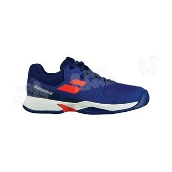 CHAUSSURES BABOLAT PULSION JUNIOR MARINE / ORANGE PE18