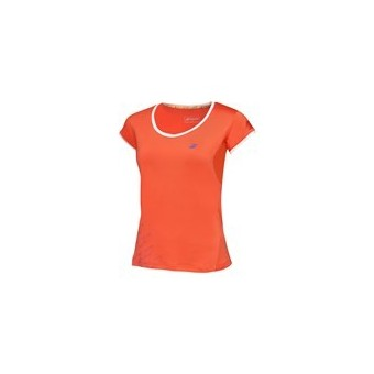 BABOLAT GIRL CAP SLEEVES PERFORMANCE ORANGE