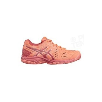 ASICS GEL PADEL PRO 3 JUNIOR CORAIL / ROUGE AH17