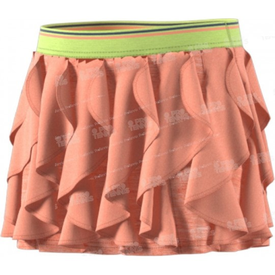 JUPE ADIDAS ENFANT FRILLY CORAIL / LIME PE18