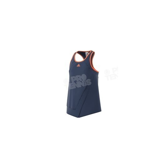 ADIDAS GIRL ML TANK NAVY / ORANGE PE17