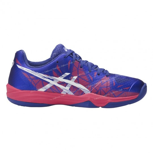 ASICS GEL FASTBALL 3 LADY NAVY / BLEU / ROSE AH17 INDOOR