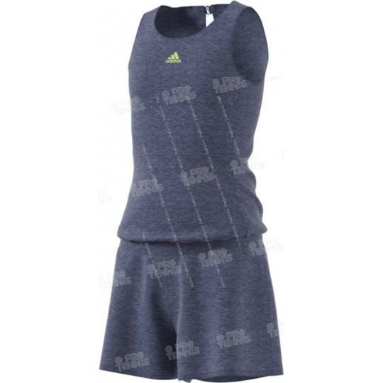 ROBE ADIDAS ENFANT MELBOURNE NAVY / LIME PE18