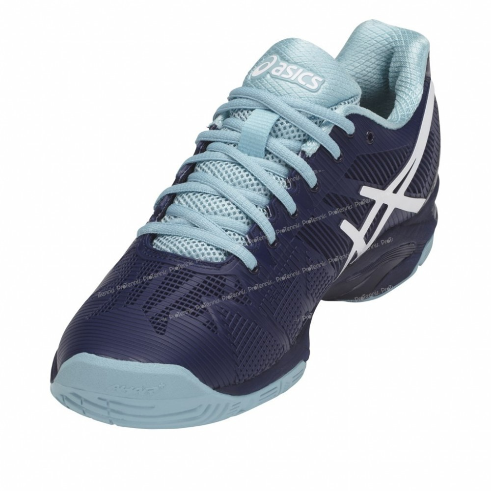 14b9aef1ef Chaussures Asics Gel Solution Speed 3 Lady Indigo   Bleu Pe18 ...