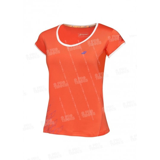 BABOLAT CAP SLEEVES PERF WOMEN ROUGE