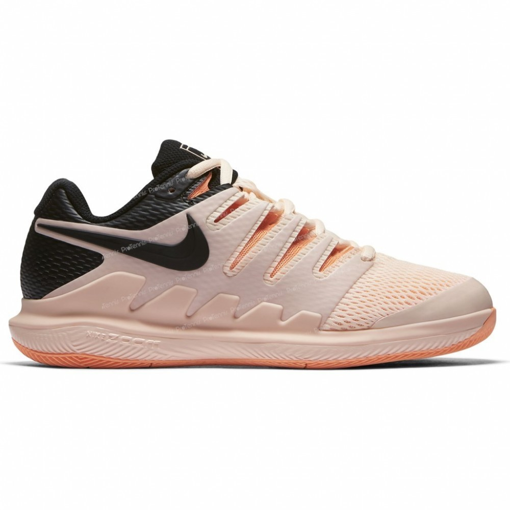 chaussures nike vapor x femme beige noir printemps 2018. Black Bedroom Furniture Sets. Home Design Ideas