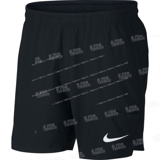 SHORT NIKE HOMME FLEX ACE 7 NOIR PRINTEMPS 2018