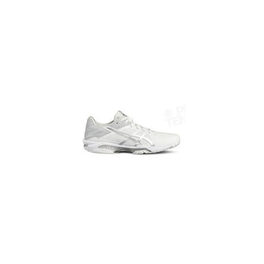 ASICS GEL SOLUTION SPEED 3 BLANC / SILVER PE18