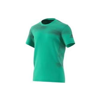 T-SHIRT ADIDAS HOMME MELBOURNE PRINTED VERT PE18