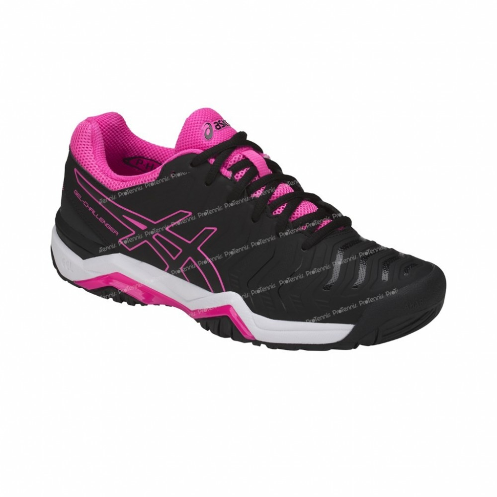 CHAUSSURES ASICS GEL CHALLENGER 11 LADY NOIR ROSE PE18