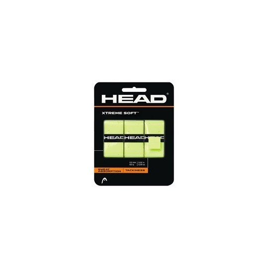 HEAD XTREME SOFT JAUNE