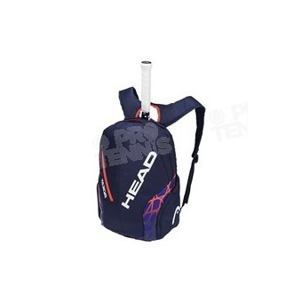 SAC A DOS HEAD RADICAL REBEL BACKPACK 2018 ORANGE / NAVY