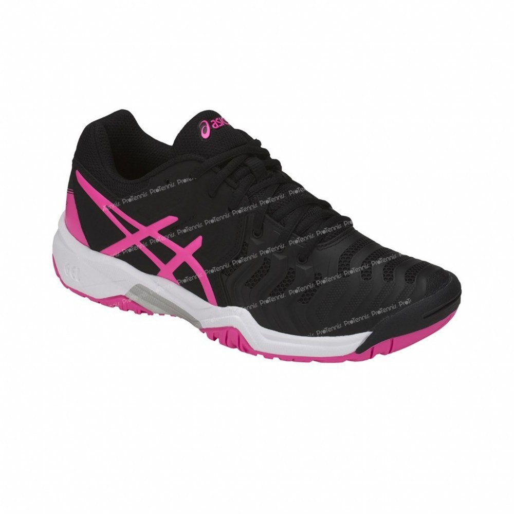 asics junior noir