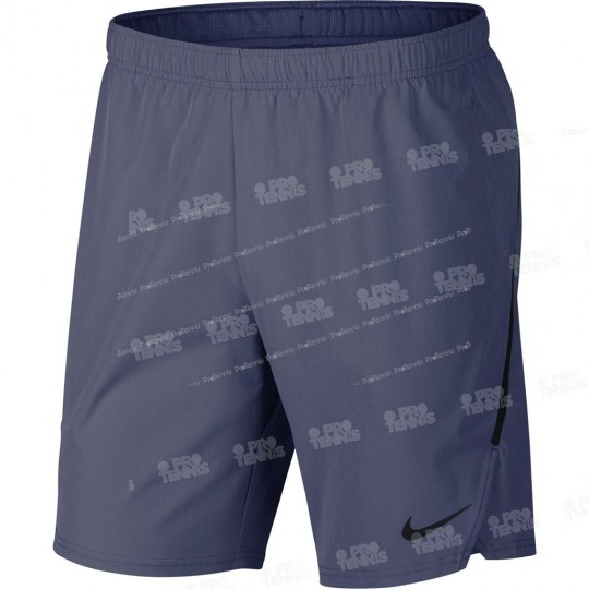 SHORT NIKE HOMME FLEX ACE 9 BLEU RECALL PRINTEMPS 2018