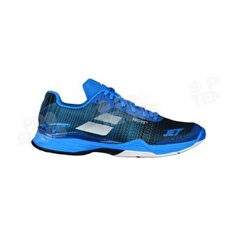 huge selection of 99d75 9166a CHAUSSURES BABOLAT JET MACH II HOMME BLEU   BLANC PE18 ...