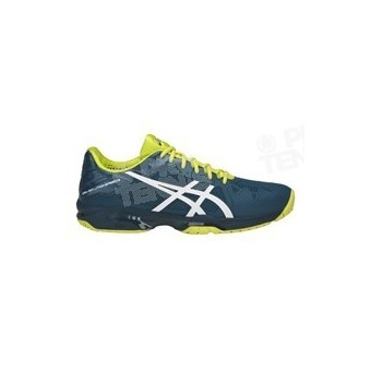 CHAUSSURES ASICS GEL SOLUTION SPEED 3 BLEU / JAUNE PE18