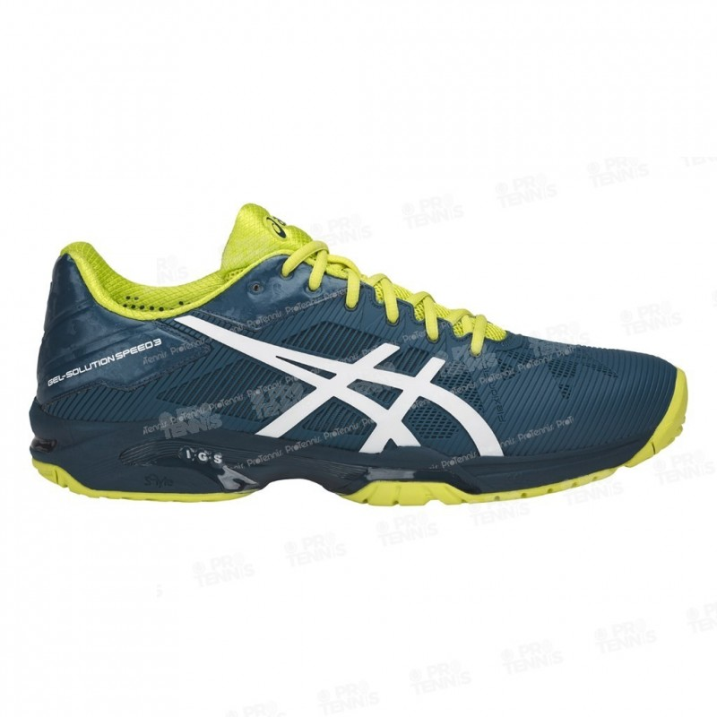 Asics Gel Solution Speed 3 Homme Chaussures Tennis Bleu Bleu Bleu nW3APs 9cbcac